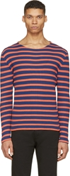 Closed Blue And Orange Striped T Shirt