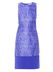 Richard Nicoll Snake Effect Jacquard Sleeveless Dress