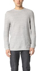 Naked And Famous Long Sleeve Double Faced Shirt Grey