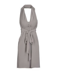 Caractere Short Dresses Grey