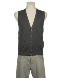 Sun 68 Knitwear Sweater Vests Men Beige