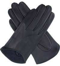 Dents Frances Hairsheep Leather Gloves Navy