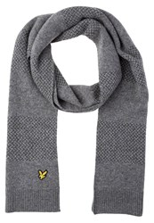 Lyle And Scott Scarf Mid Grey Marl