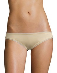 Dkny Mesh Trimmed Hipsters Glow