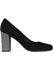 Saint Laurent 'Babies 90' Studded Pumps Black