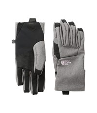 The North Face Women's Apex Etip Glove Rabbit Grey Heather Extreme Cold Weather Gloves Gray