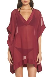 Ted Baker London Holical Cover Up Tunic Deep Pink