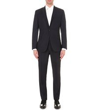 Kilgour Regular Fit Wool Suit Dark Navy
