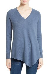 Joie Women's Shatoria Wool And Cashmere Asymmetrical Sweater Dusty Indi