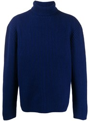 Joseph Ribbed Knit Roll Neck Jumper 60