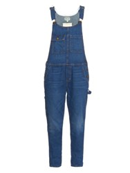 Current Elliott The Carpenter Denim Overalls Indigo