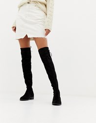 Pimkie Over The Knee Boot Black