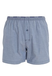 Sloggi Freedom Boxer Shorts Midnight Blue Mottled Grey