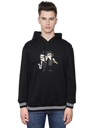 Dolce And Gabbana Musical Designers Cotton Sweatshirt