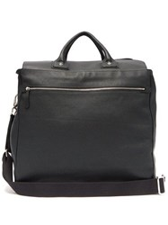 Connolly Sea 1985 Large Grained Leather Bag Black