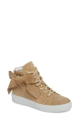 Cycleur De Luxe Avery High Top Sneaker Sand Suede
