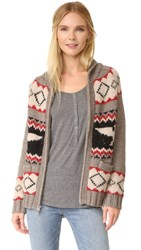 Levi's Muir Woods Cowichan Cardigan Tree Heather