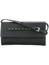Red Valentino Star Studded Flap Bag Black
