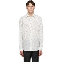 Paul Smith White Floral Soho Fit Shirt