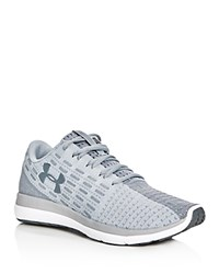 Under Armour Speed Chain Lace Up Sneakers Gray