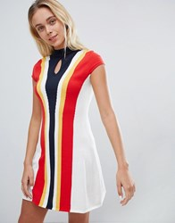 Urban Bliss 60S Fit And Flare Dress Multi