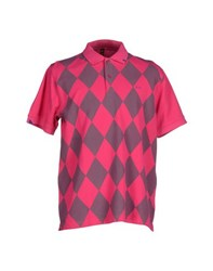 Sun 68 Topwear Polo Shirts Men Fuchsia