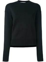 Givenchy Zip Detail Sweater Black