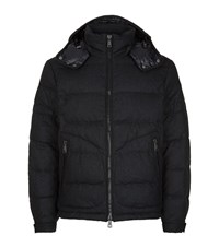 Polo Ralph Lauren Quilted Wool Blend Puffer Jacket Male Grey