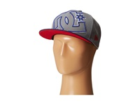 Dc Double Up Hat Dark Shadow Indigo Baseball Caps Gray