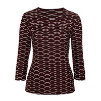 Gerry Weber Textured Jersey Top Berry