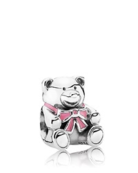 Pandora Design Pandora Charm Sterling Silver And Enamel It's A Girl Moments Collection Pink Silver