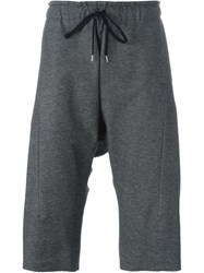 Individual Sentiments Track Shorts Grey