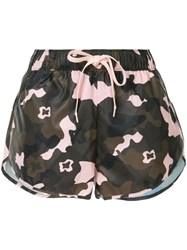 The Upside Camouflage Drawstring Shorts Multicolour