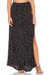 Wyldr Partition Maxi Skirt Black