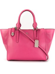 Coach Shopper Tote Pink And Purple