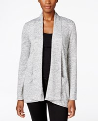 Styleandco. Style Co. Petite Marled Cardigan Only At Macy's Grey