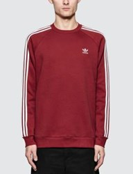 Adidas Originals 3 Stripes Crewneck Sweatshirt