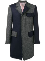 Thom Browne Frayed Edges Chesterfield Grey