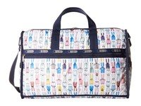 Lesportsac Luggage Large Weekender Coloring Book Rabbits Duffel Bags White