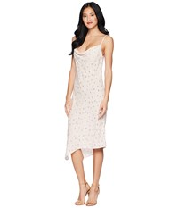 Ag Adriano Goldschmied Gia Dress Prism Pink Multi White