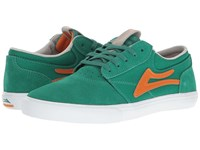 Lakai Griffin Little Kid Big Kid Green Orange Suede Men's Skate Shoes Green Orange Suede