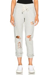 Nsf Sayde Sweatpants In Gray