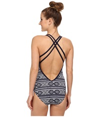Carve Designs Beacon Full Piece Anchor Bali Women's Swimsuits One Piece Gray