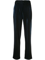 Sally Lapointe Pin Tuck Belted Trousers 60