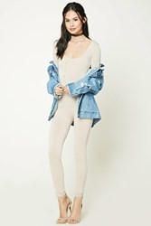 Forever 21 Stretch Knit Jumpsuit