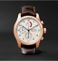 Bremont America's Cup Regatta 43Mm Rose Gold And Alligator Chronograph Watch Rose Gold