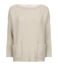 Malo Cashmere Pocket Jumper Female Neutral