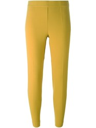P.A.R.O.S.H. Straight Leggings Yellow And Orange