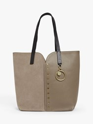 See By Chloe Gaia Small Suede Leather Tote Bag
