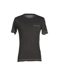 Officina 36 T Shirts Steel Grey
